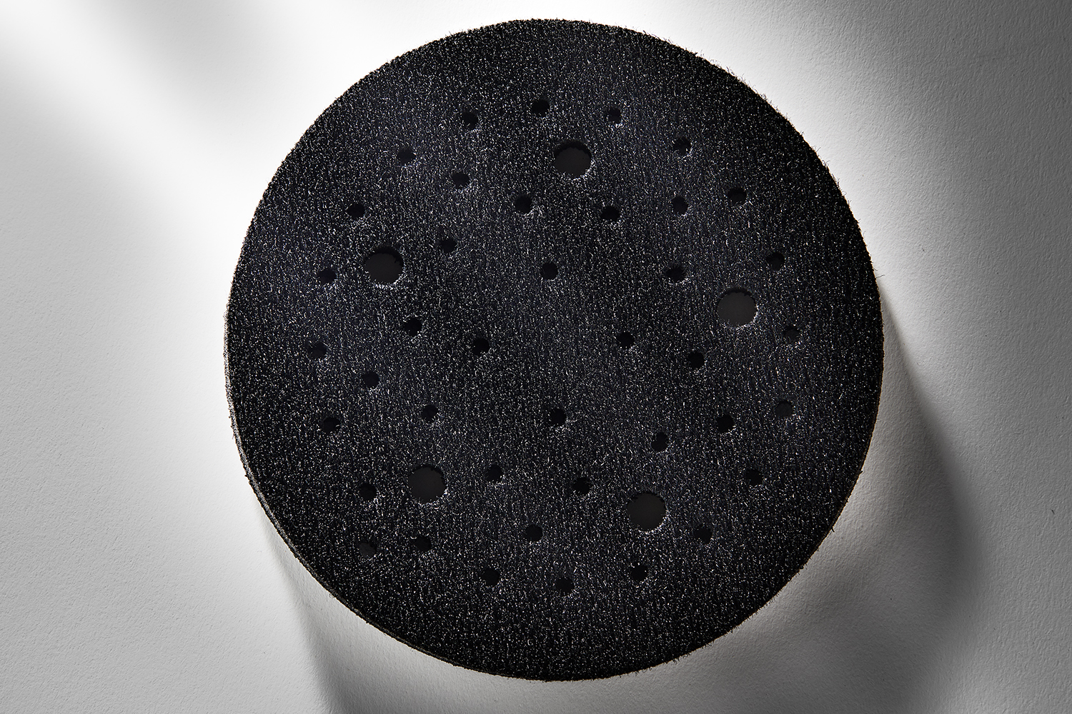 Mirka 5 In. Dia. 5Mm Thick Abranet Grip Faced Interface Pad 9155