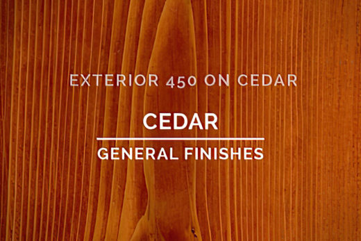 General Finishes Exterior 450 Stain Cedar Water Based