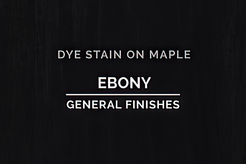 General Finishes Ebony Dye Pint