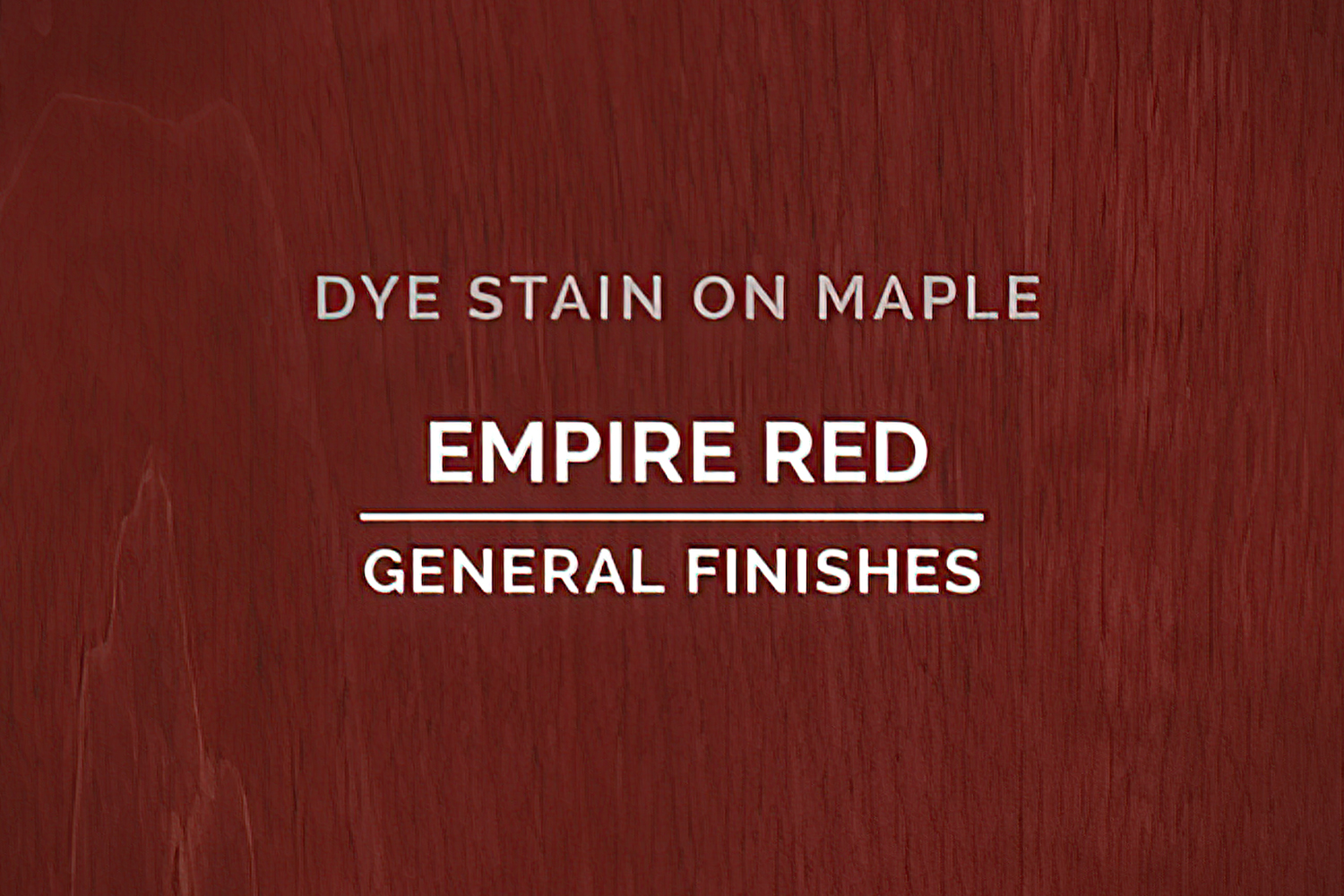 General Finishes Empire Red Dye Pint