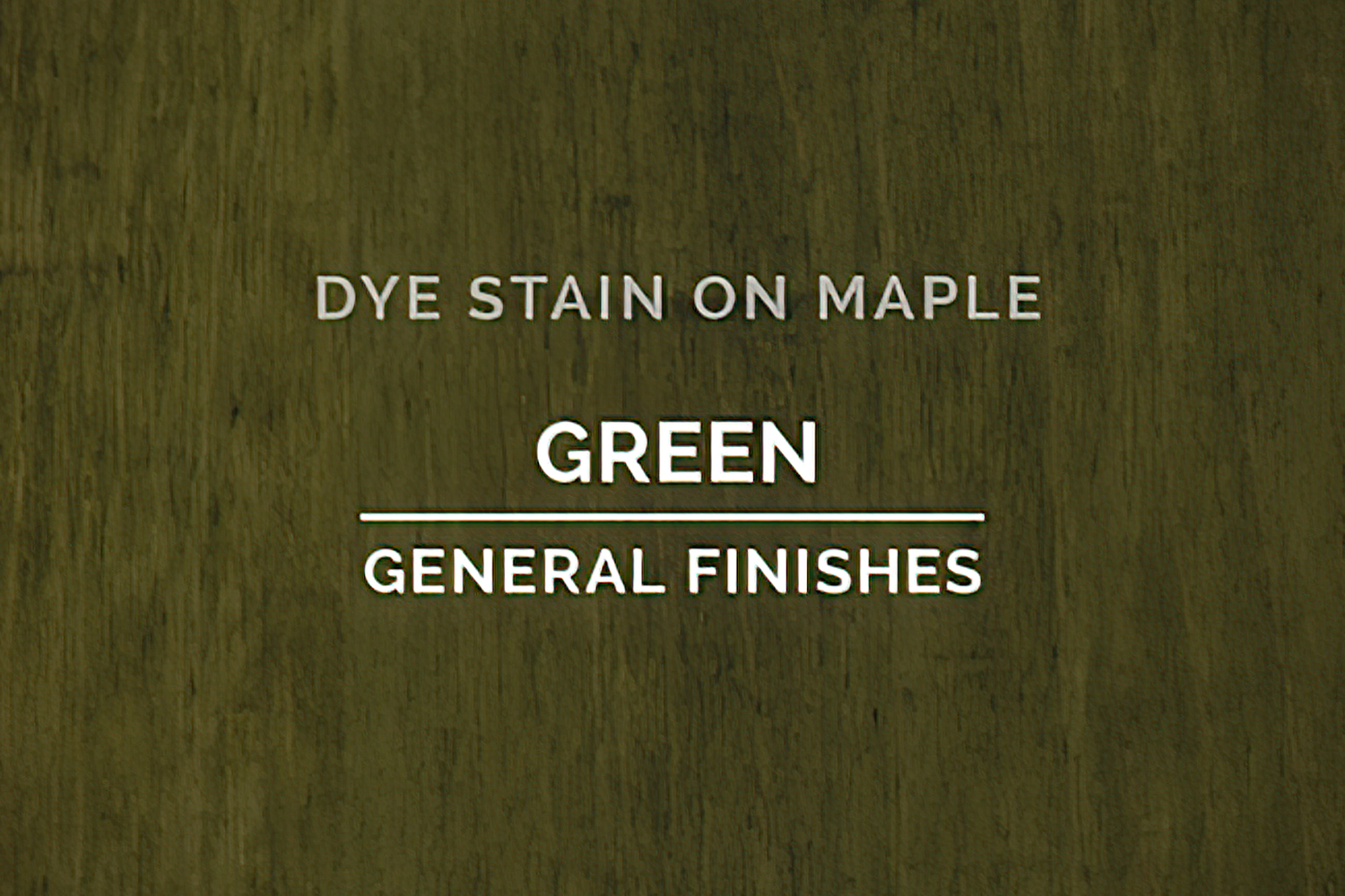 General Finishes Green Dye Pint