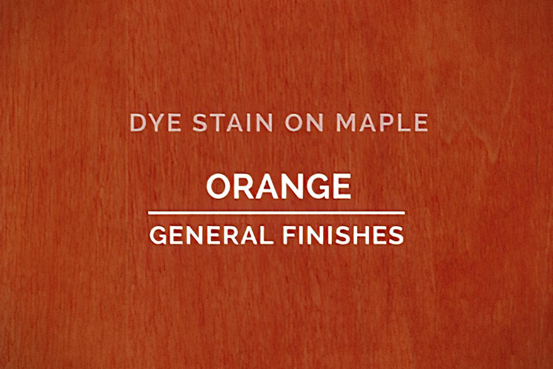 General Finishes Orange Dye Pint
