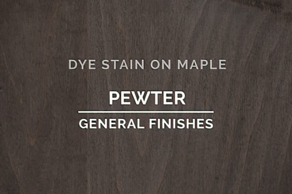 General Finishes Pewter Dye Pint