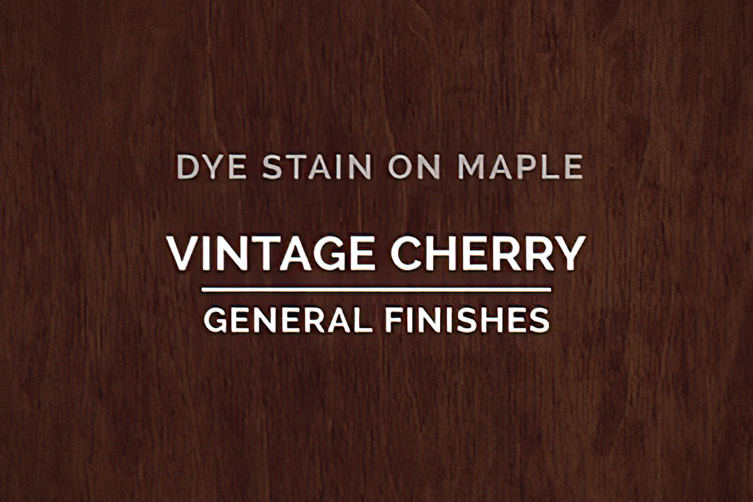 General Finishes Vintage Cherry Dye Pint