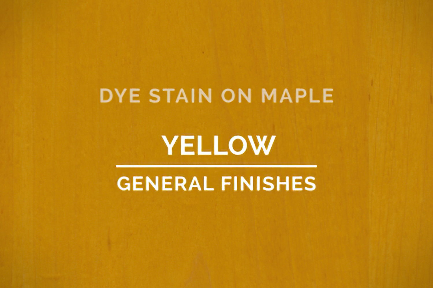 General Finishes Yellow Dye Pint