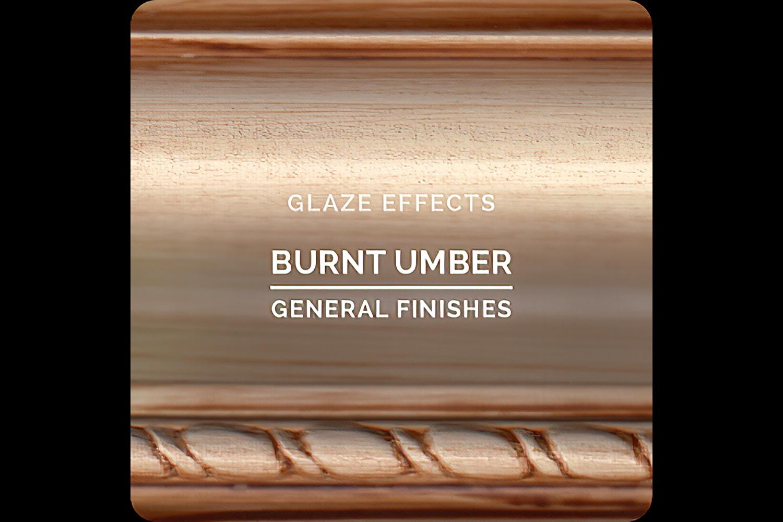 General Finishes Glaze Effects Burnt Umber Water Based