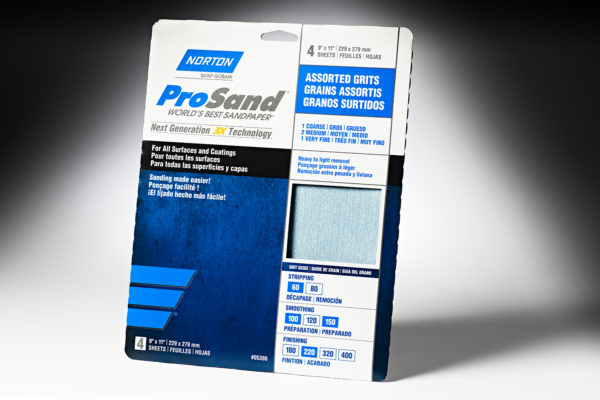 "Norton 3x ProSand 9"" x 11"" Sanding Sheets Assortment Pack"