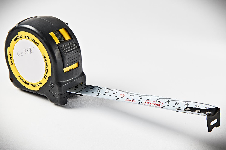 FastCap ProCarpenter Tape Measure Metric-Standard 25' PMS-25