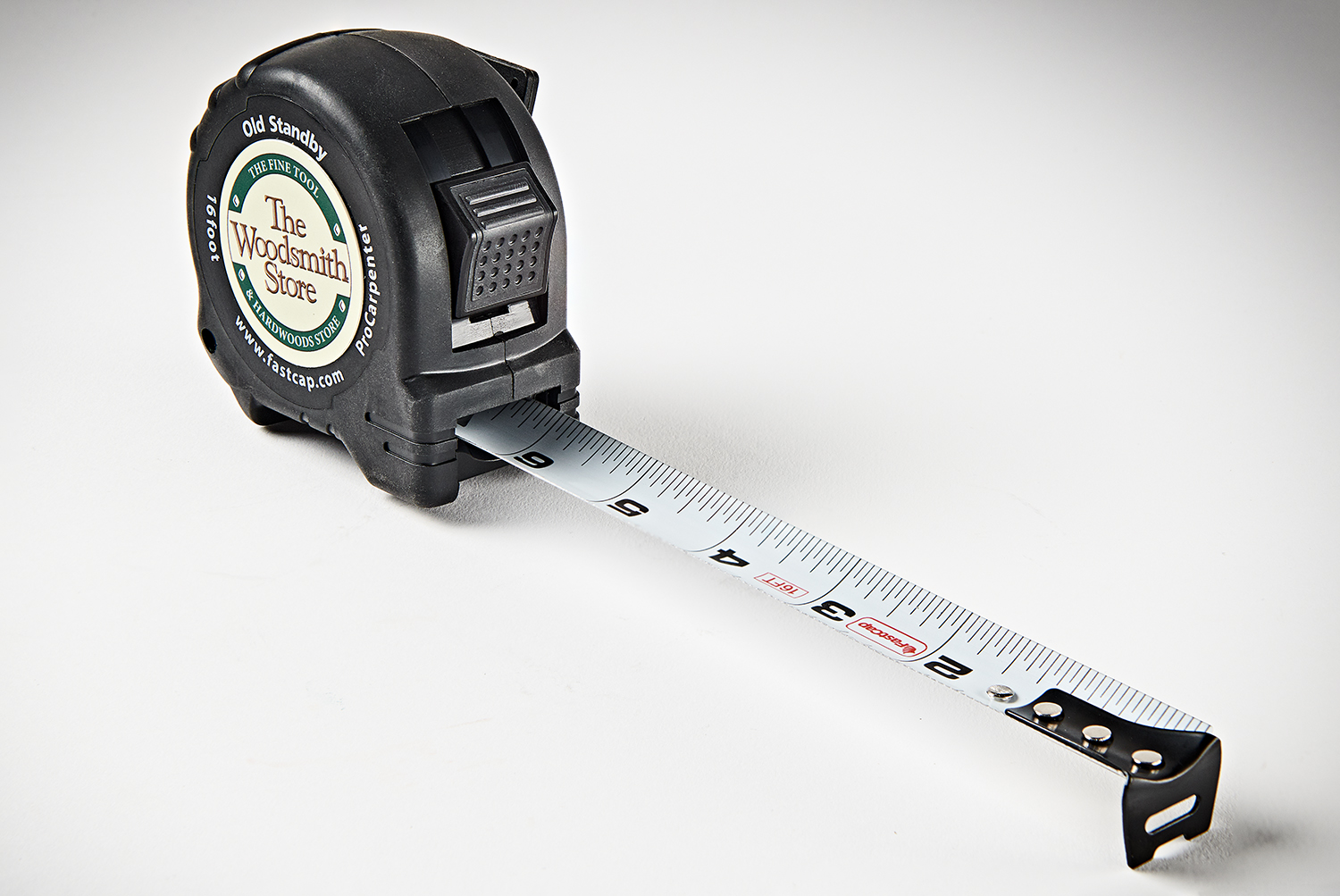"""The Woodsmith Store Logo Fastcap 16"""" Old Standby Tape Measure WSS-PS16"""