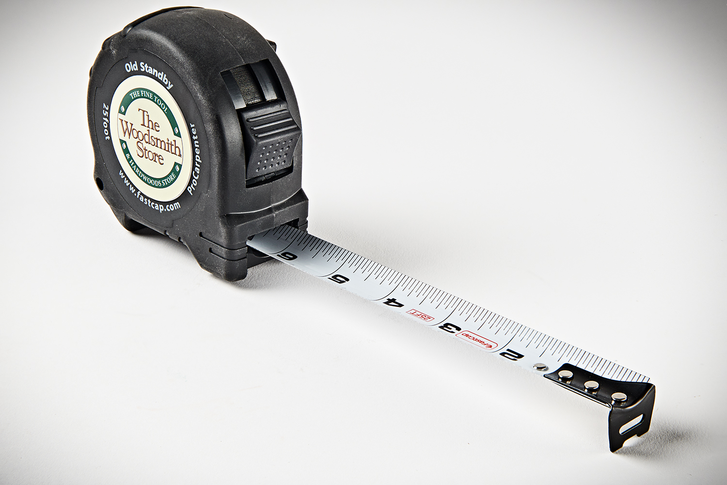 """The Woodsmith Store Logo Fastcap 25"""" Old Standby Tape Measure WSS-PS25"""