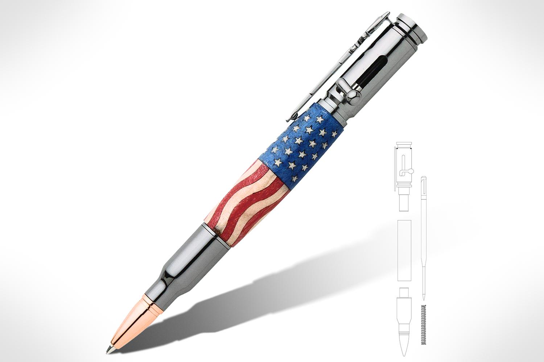 30 Caliber Bolt Action Gun Metal Bullet Cartridge Pen Kit PKCP80