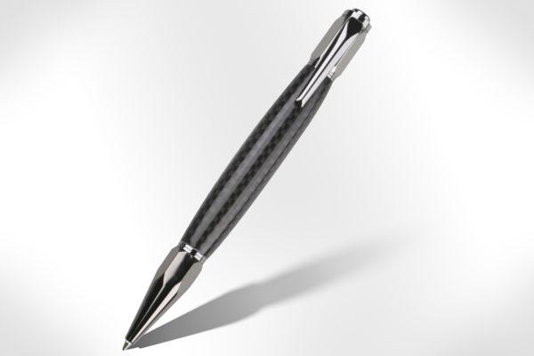 Vertex Gun Metal Click Pen Kit PKFP4010