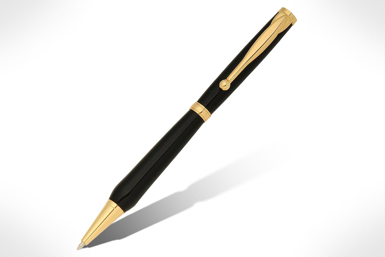 Funline Slimline Economy Gold Pen Kit PKSLFUN24