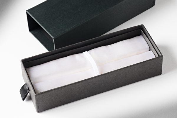 PSI Deep Pocket Pen Box with White Satin Interior PKBOX9W