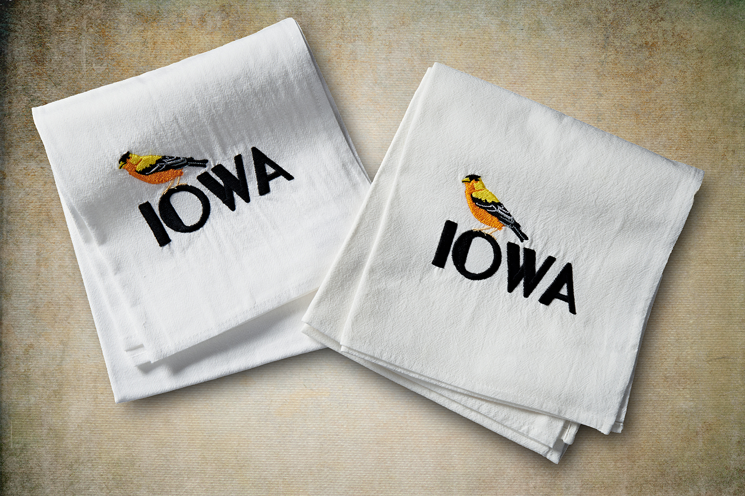 910372 WSS IOWA FlourSackTowel GoldFinch 8292 Copy