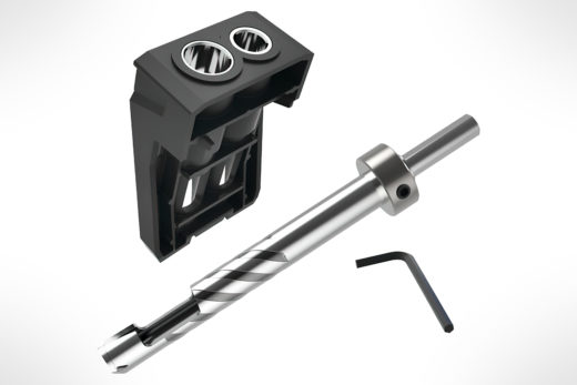 Kreg Custom Plug Cutter Drill Guide Kit KPHA740