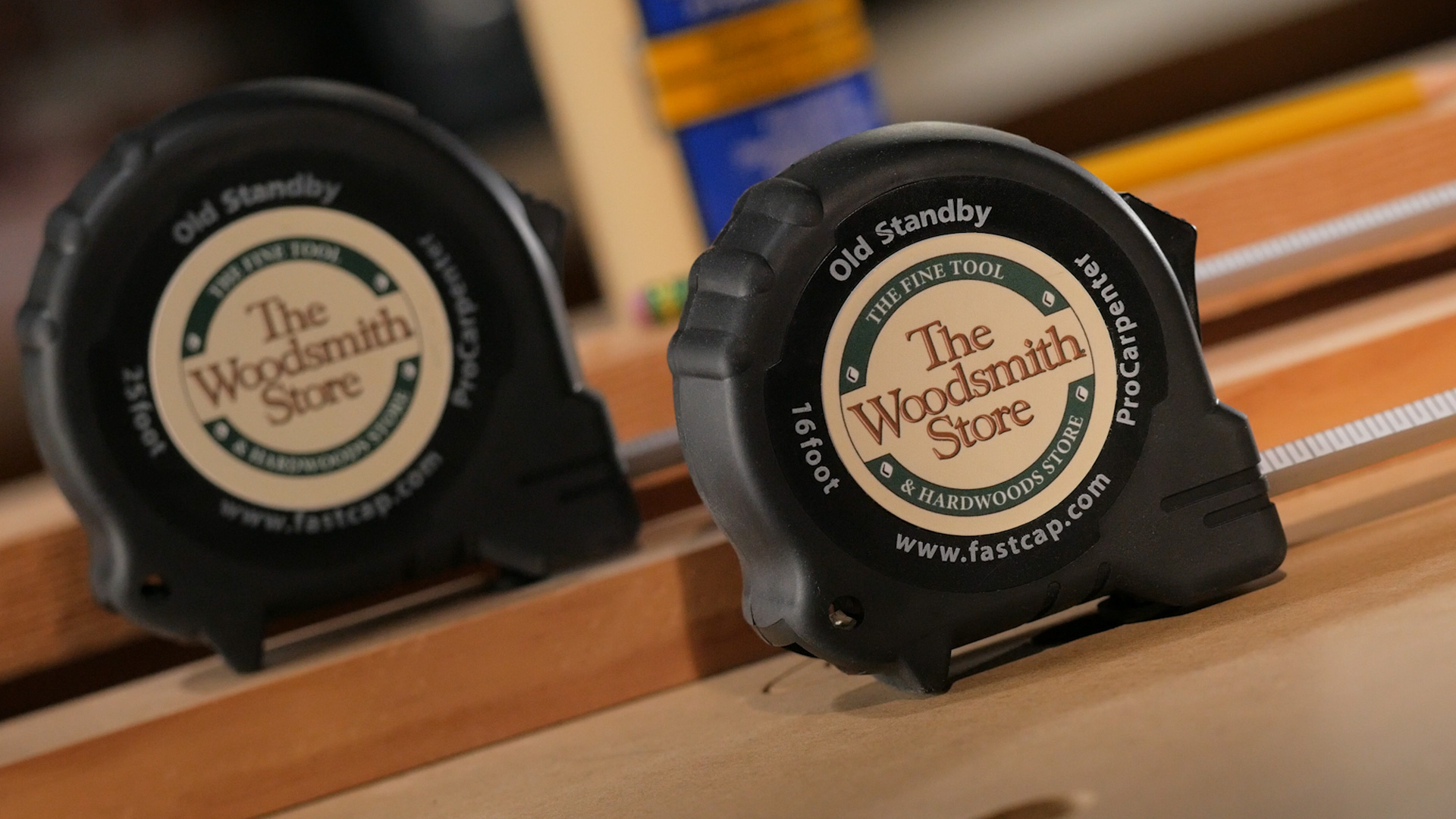 Special Edition Woodsmith Store Measuring Tape Set