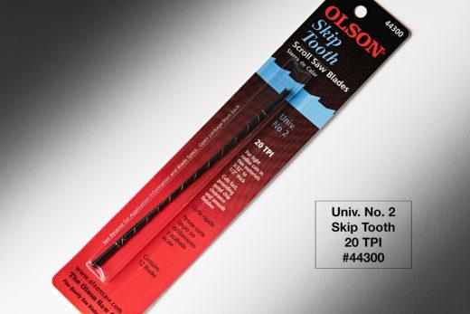 """Olson Skip Tooth Blades 12pk 5″ Long 2 Univ .029"""" x .012"""" 20TPI FR44300"""