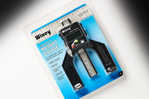 Wixey Mini Digital Height Gauge with fractions WR25