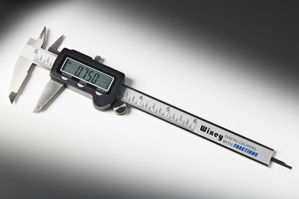 Wixey Digital Calipers with Fractions WR100