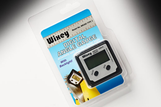Wixey Digital Angle Gauge with Backlight Type 2 WR300T2
