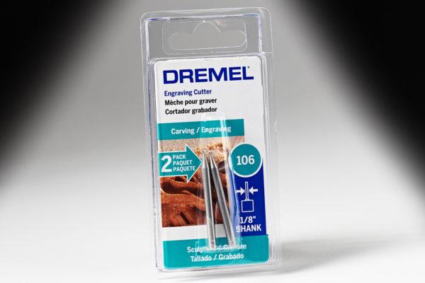 """Dremel 106 1/16"""" Engraving Bit 106"""