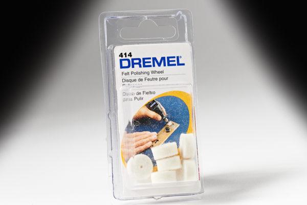 "Dremel 414 1/2"" Felt Polishing Wheel 414"