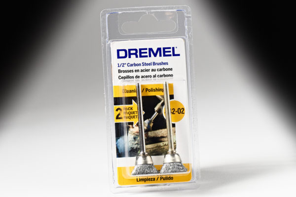 "Dremel 442-02 1/2"" Carbon Steel Brushes 442-02"