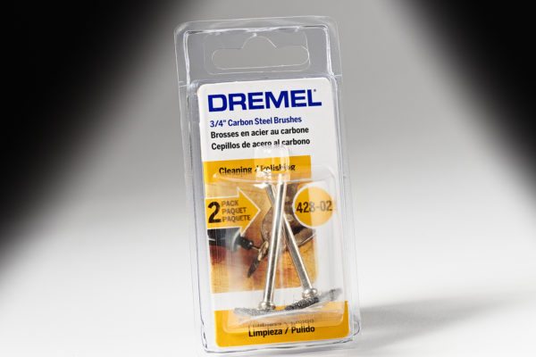 "Dremel 428-02 3/4"" Carbon Steel Brushes 428-02"