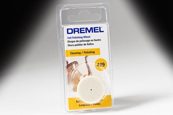 "268683 Dremel 429 1"" Felt Polishing Wheel 429"