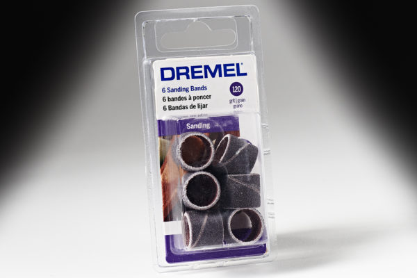 "Dremel 432 1/2"" 120 Grit Sanding Band 432"