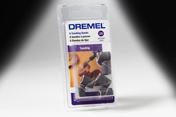 "Dremel 438 1/4"" 120 Grit Sanding Band 438"