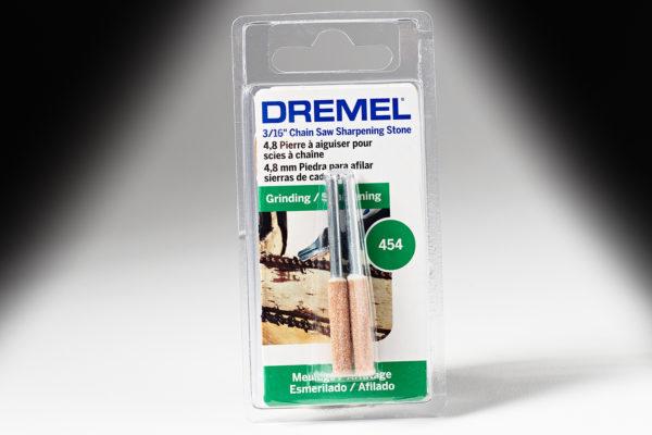"Dremel 454 3/16"" Chainsaw Sharpening Stone 454"