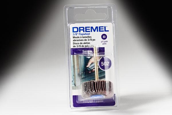 "Dremel 502 3/8"" 80 Grit Flapwheel 502"