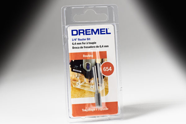 "Dremel 654 1/4"" Straight Router 654"