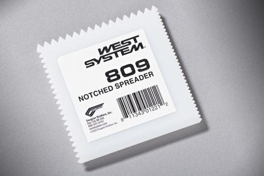 West System Notched Spreader 809