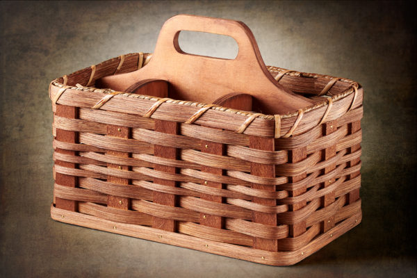Troyer Baskets Natural Medium Utensil Basket