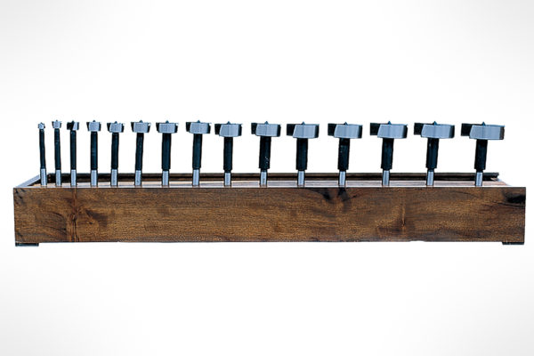 "Amana 15-Piece Forstner Pattern High Carbon Steel Set 3/8"" Shank FO-700"