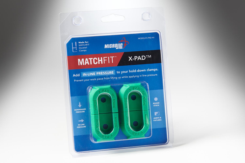 111111 #X PAD K4 Microjig MatchfitX Pad 4pc 9014 Copy