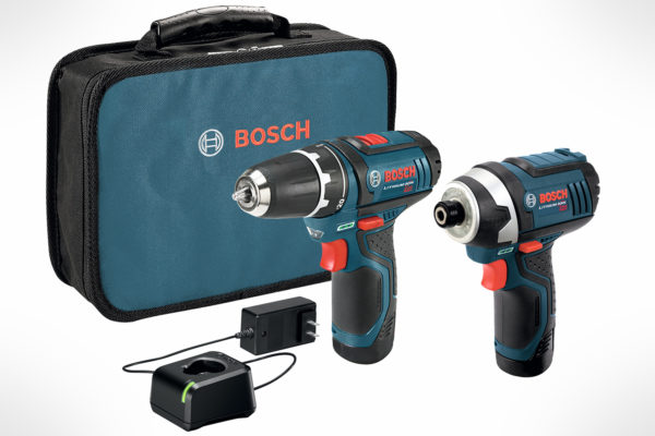 Bosch 12V Max 2-Tool Combo Kit with 38 DrillDriver, Impact Driver