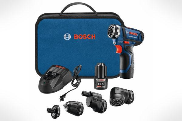 Bosch 12V Max Flexiclick® 5-In-1 DrillDriver System GSR12V-140FCB22