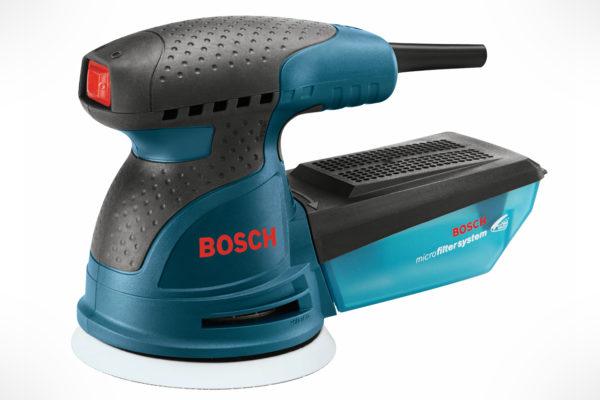 """Bosch 5"""" Single-Speed Palm Random Orbit Sander ROS10"""