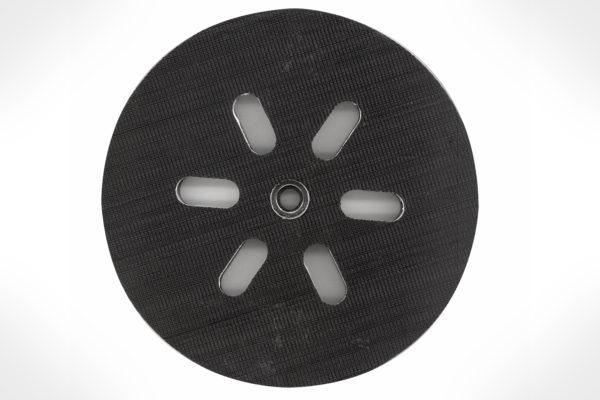 "Bosch 6"" 6 Hole Soft Hook-&-Loop Sander Backing Pad RS6045"