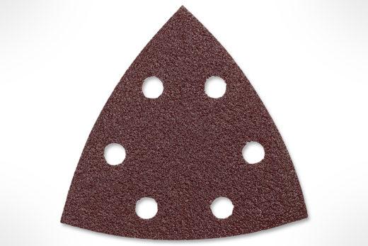 "Bosch 3-1/2"" 5 pc. 60 Grit Detail Sander Abrasive Triangles for Wood SDTR060"