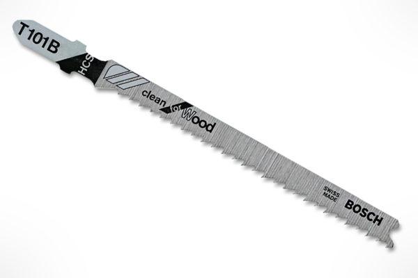 """Bosch 4"""" 10TPI T-Shank Jig Saw Blades T101B"""
