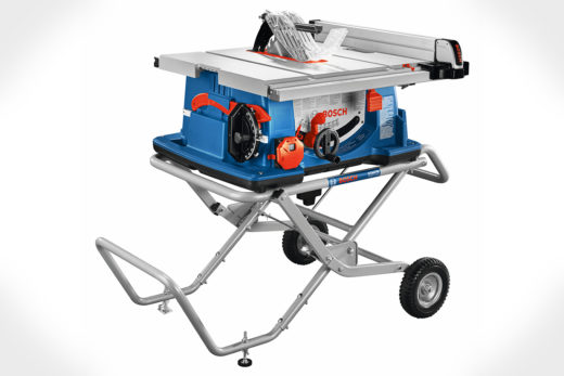 """Bosch 10"""" Worksite Table Saw with Gravity-Rise Wheeled Stand 4100XC-10"""
