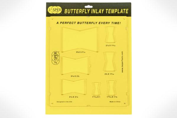 Jasper Butterfly Inlay Template MODEL 100