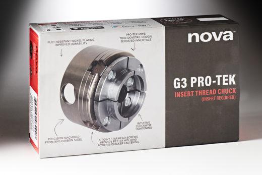 Nova Pro-Tek G3 Insert Thread Chuck & Jaws 48290