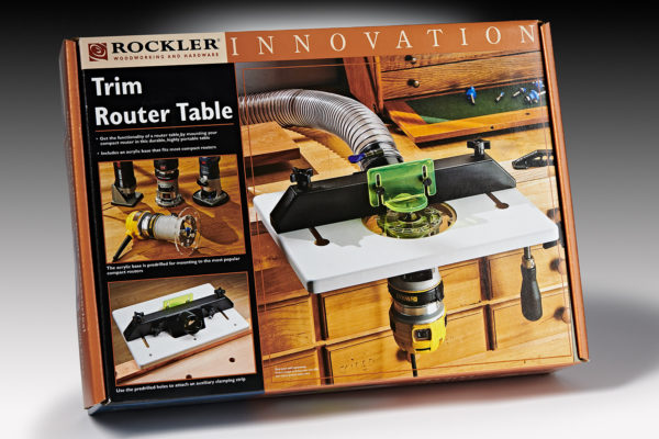 Rockler Trim Router Table 43550
