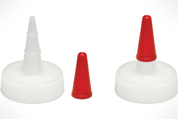 Rockler Standard Glue Spouts with Caps, 2-Pack 46647